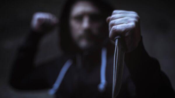 Мужчина с ножом - Sputnik Абхазия