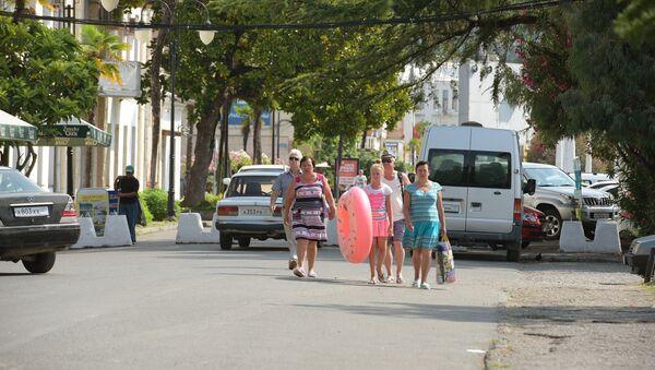 Отдых в Абхазии - Sputnik Аҧсны