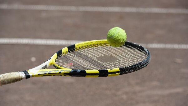 Открытие теннисного турнира им. С. Ардзинба - Sputnik Аҧсны