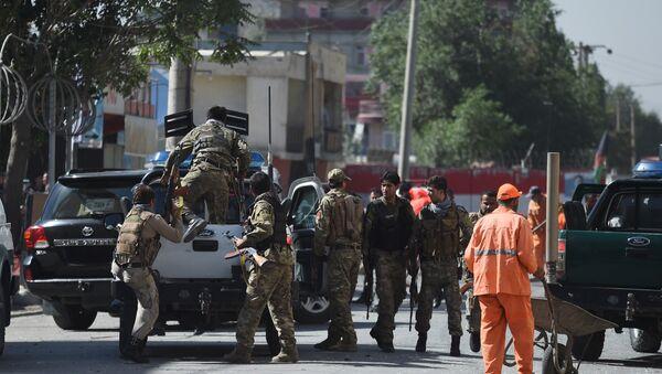На месте взрыва в Кабуле - Sputnik Аҧсны