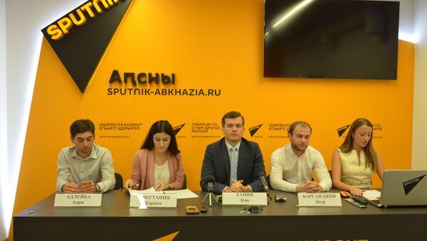 Организаторы благотворительного забега Бежим со смыслом - Sputnik Абхазия