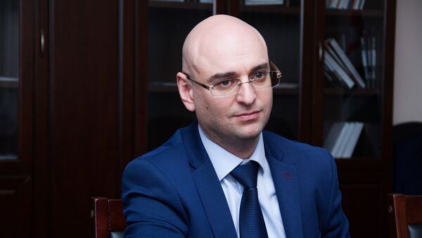АУН Амшынеиқәафымцамч адиректор хада Аслан Басариа - Sputnik Аҧсны