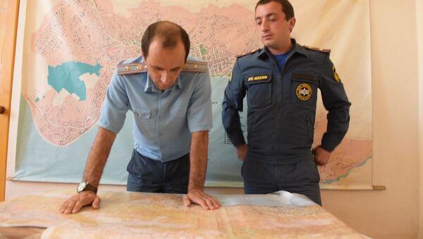 МЧС Абхазии изучает предполагаемый маршрут пропавшего туриста - Sputnik Абхазия