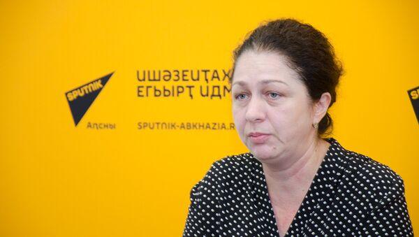 Анжела Арчелия - Sputnik Абхазия