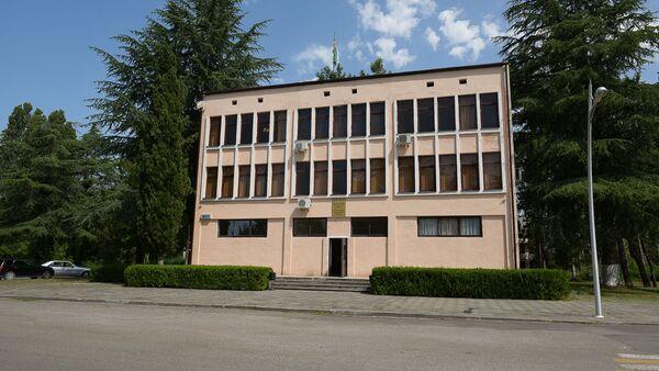 Здание администрации Пицунды - Sputnik Абхазия