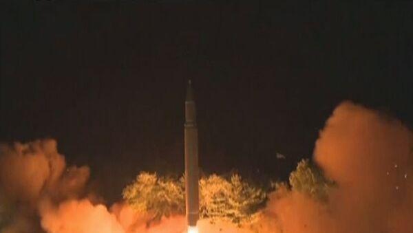 Запуск баллистической ракеты в Северной Корее - Sputnik Абхазия