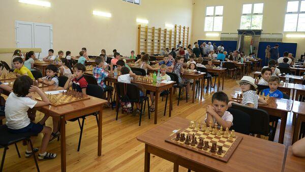 Открытие чемпионата по шахматам - Sputnik Аҧсны
