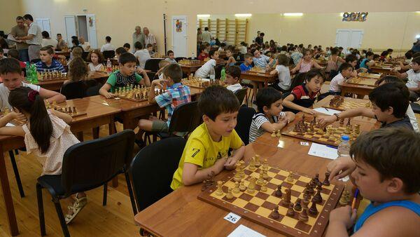 Открытие чемпионата по шахматам - Sputnik Абхазия
