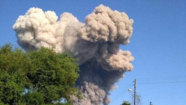 Первые минуты взрыва в селе Приморское - Sputnik Абхазия