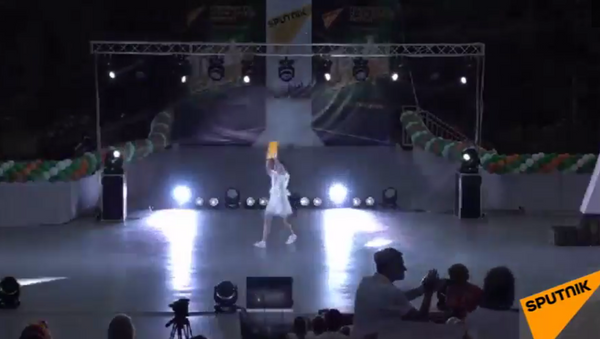 Концерт участников проекта Ты супер! в детском лагере Орленок - Sputnik Абхазия