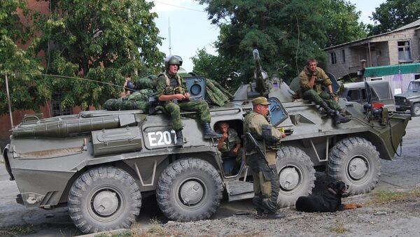 Российские войска пришли на помощь Южной Осетии - Sputnik Абхазия