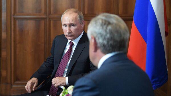 Рабочая поездка президента РФ В. Путина в Абхазию - Sputnik Абхазия
