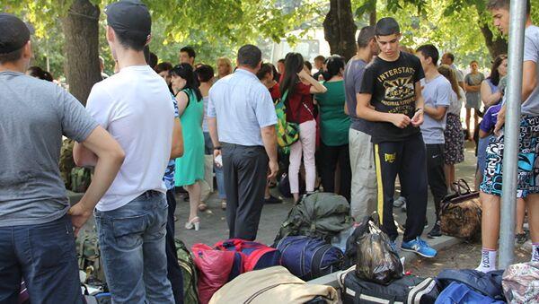 Дети едут в Абхазию - Sputnik Абхазия