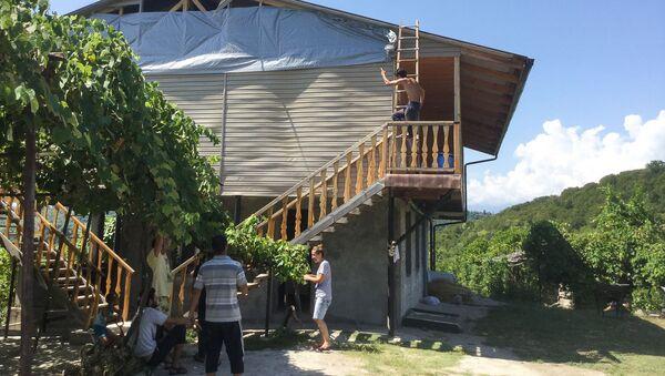 Ликвидация последствий взрыва в Приморском - Sputnik Абхазия