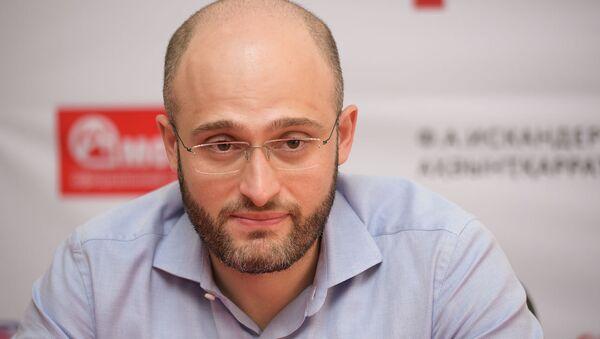 Пресс-конференция Евгения Князева в РУСДРАМе - Sputnik Абхазия