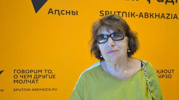 Аԥсны Жәлар рартистка  Софа Агәмааԥҳа - Sputnik Аҧсны