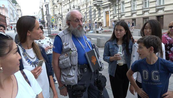 Дети из шоу Ты супер! Танцы повстречались с Анатолием Вассерманом в Москве - Sputnik Абхазия