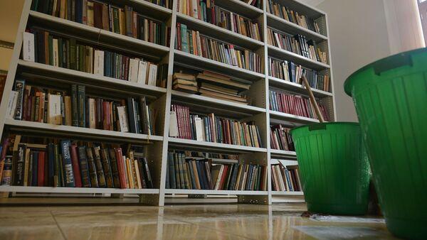 Затопление национальной библиотеки - Sputnik Абхазия