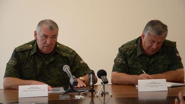 Кишмария о том как ликвидируют последствия взрыва в Приморском - Sputnik Абхазия