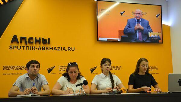 Видеомост Абхазия-Южная Осетия - Sputnik Аҧсны