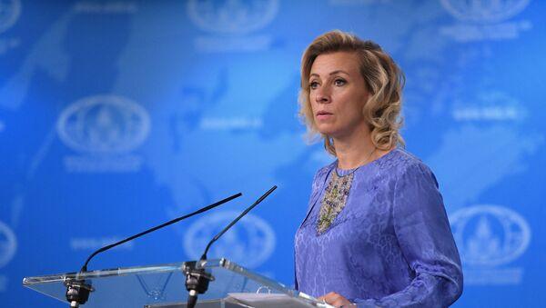 Официальный представитель министерства иностранных дел России Мария Захарова - Sputnik Абхазия