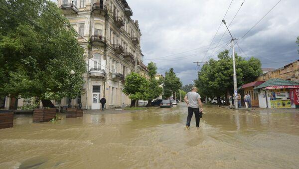 Наводнение в Сухуме - Sputnik Абхазия