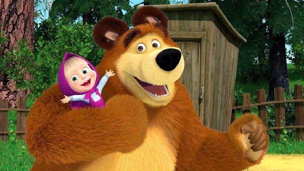 Кадр из мультфильма Маша и медведь - Sputnik Абхазия