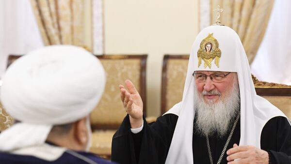 Встреча патриарха Кирилла с представителями церковных конфессий - Sputnik Абхазия