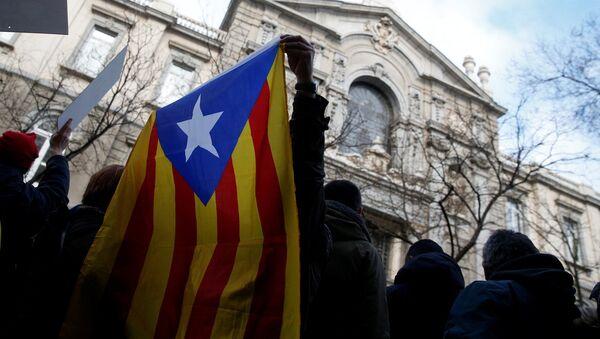 Каталонский флаг - Sputnik Абхазия
