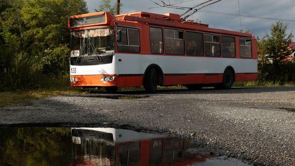 Троллейбусный парк - Sputnik Абхазия