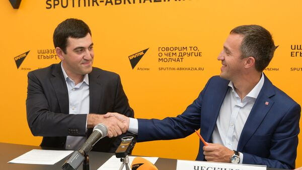 Борис Барциц и Ческидов Алексей - Sputnik Абхазия