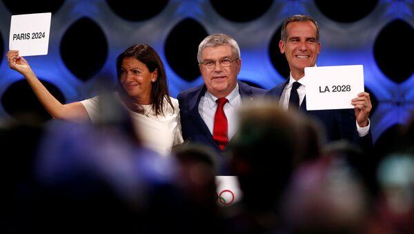 Париж и Лос-Анджелес официально утверждены в статусе столиц Олимпийских игр 2024 и 2028 - Sputnik Аҧсны