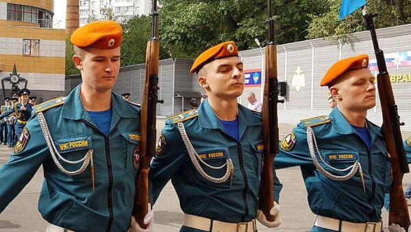 Абхазские курсанты Академии МЧС России приняли присягу на верность Абхазии - Sputnik Аҧсны
