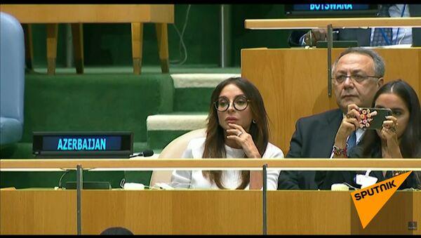 Папа говорит: дочь лидера Азербаджана селфилась во время речи отца в ООН - Sputnik Абхазия