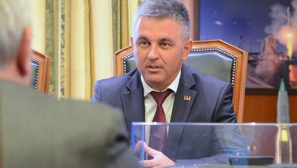 Встреча вице-премьера РФ Д. Рогозина и президента Приднестровья В. Красносельского - Sputnik Абхазия