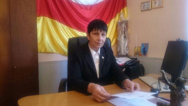 Глава фонда защиты раненных РЮО Мадина Плиева - Sputnik Аҧсны