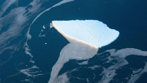 Айсберг в море Лазарева у берегов Антарктиды - Sputnik Абхазия