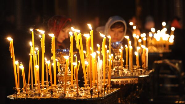 Патриаршее служение в Прощеное воскресенье - Sputnik Абхазия
