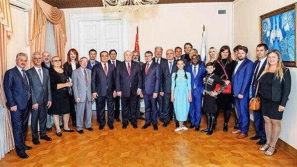 День Победы и Независимости в посольстве Абхазии в РФ - Sputnik Абхазия