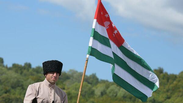 Скачки на Бзыбском ипподроме - Sputnik Абхазия