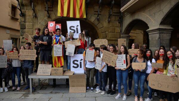 Референдум о независимости Каталонии - Sputnik Абхазия