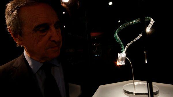 Выставленный на аукцион бриллиант - Sputnik Аҧсны