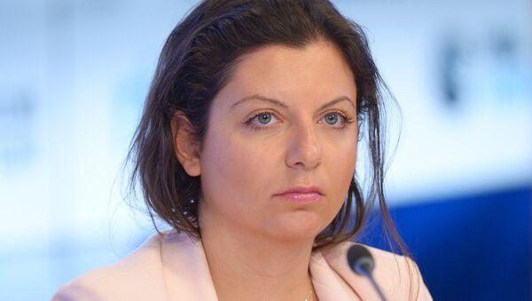 Ателеканал RT, МИА Россия сегодня рредактор хада Маргарита Симониан  - Sputnik Аҧсны