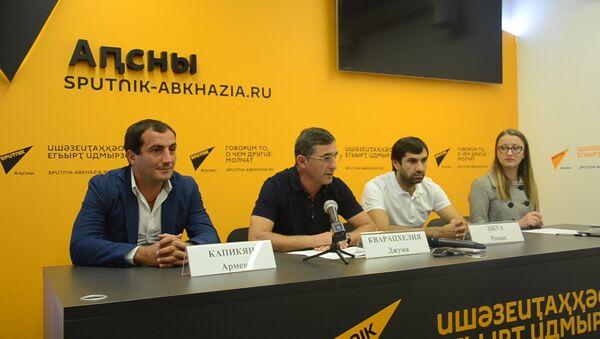 Ни одного поражения: Кварацхелия рассказал об успехе Афона - Sputnik Абхазия