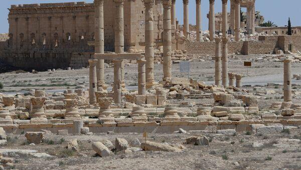 Разрушенный храм Бэла в Пальмире - Sputnik Абхазия