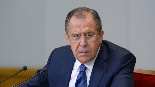 Министр иностранных дел России Сергей Лавров, архивное фото - Sputnik Аҧсны