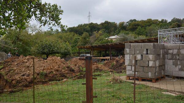 Восстановление домов в Приморском - Sputnik Абхазия
