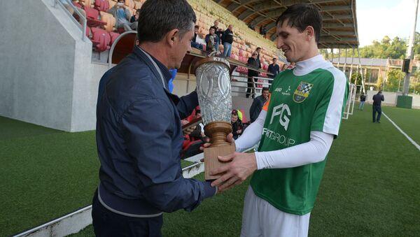 Финал чемпионата Абхазии по футболу между командами Нарт Сухум и Гагра Гагра - Sputnik Аҧсны
