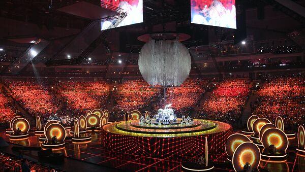 Церемония открытия XIX Всемирного фестиваля молодежи и студентов - Sputnik Аҧсны