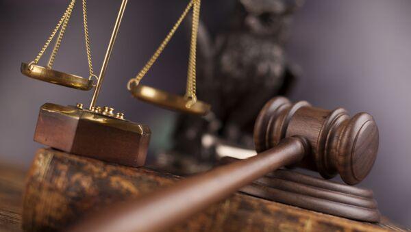 Судебный молоток и весы правосудия - Sputnik Абхазия